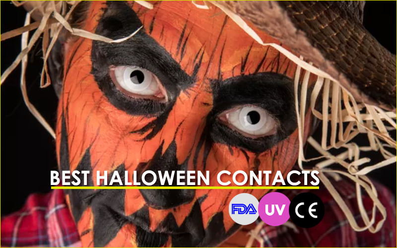 Where can I buy safe contact lenses for Halloween?